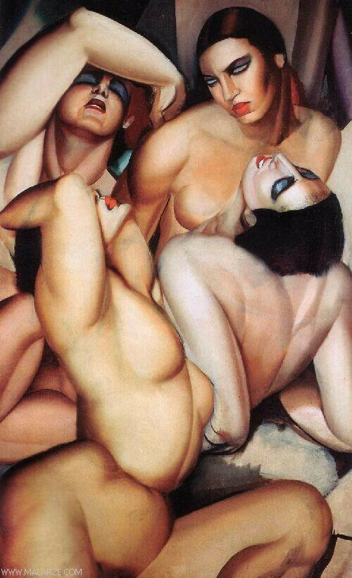 Tamara de Lempicka - Irene and